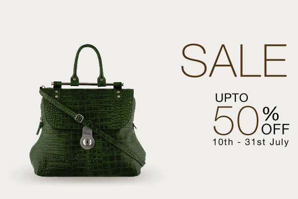 Hidesign End of Season Sale - Upto 50% off from 10 to 31 July 2013 at