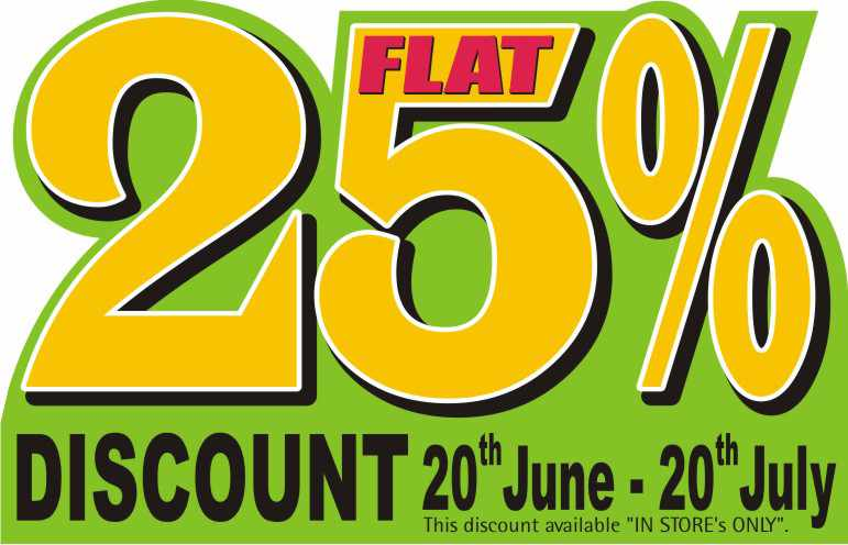 fb9b7792cde The Nature's Co Monsoon Sale - Flat 25% off from 20 June to 20 July ...