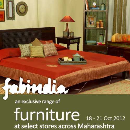 Fabindia Presents An Exclusive Range Of Furniture From 18 To 21 October 2012 In Pune Events In