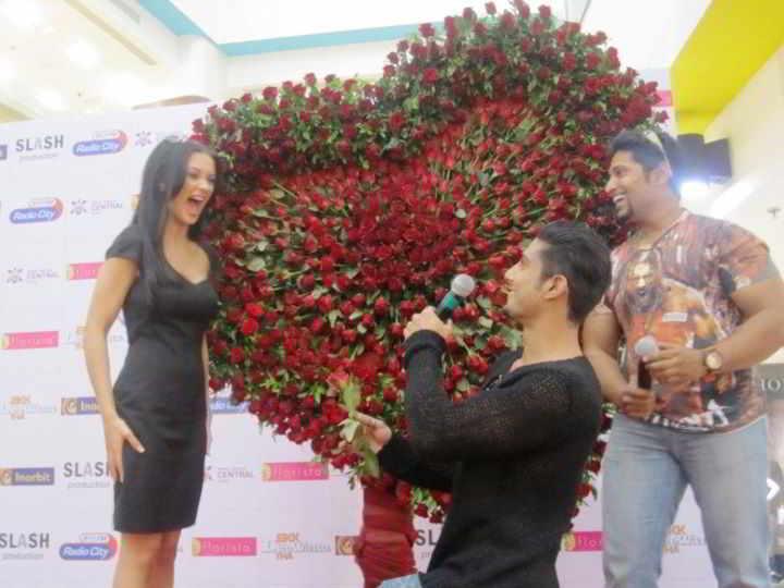Prateik Babbar & Amy Jackson, promote movie Ek Deewana Tha ...