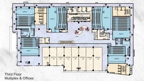 28 Floor Plan Evolve Mall In Venkatesh Oxy