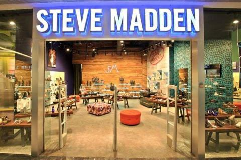 Photos of the Steve Madden store
