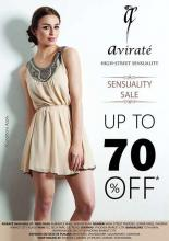 Avirate presents The Sensuality Sale, Dress, Tops, Skirts, Shrugs, Trousers, Shoes, Bags, Leggings, Jeggings, Lingerie, & More, Get up to 70% off