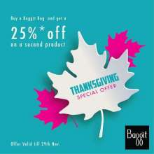 Express Gratitude With an Exciting Thanksgiving offer by Baggit!!!