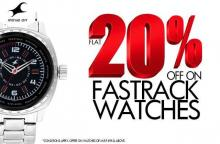 Get Flat 20% off on Fastrack Watches until 18 November 2012 in Pune