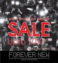 Forever New, End Of Season Sale, Upto 70% off, 28 June 2013, Amanora Town Centre, Hadapsar
