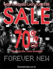 Forevernew Sale - Upto 70% off. Starting 29th June 2012