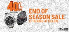 End of Season Sale at Helios, Upto 40% off on 25 brands, Sale on watches