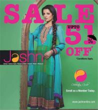Jashn Sale, Upto 51% off