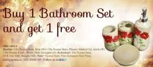 Buy 1 Bathroom Set and Get 1 Free at select Nyassa Stores in Pune