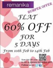 Valentine Deals - Remanika Valentines Offer