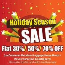 Star Bazaar Holiday Season Sale, Sale on Consumer Durables, Sale on Luggage, Sale on Home Needs, Sale on House ware, Sale on Toys, Sale on Stationery