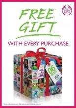 The Body Shop - 6th Birthday Offer - Free Gift with every Purchase