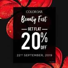 Colorbar Beauty Fest - Get Flat 20% off at Phoenix Marketcity Pune  22nd September 2019