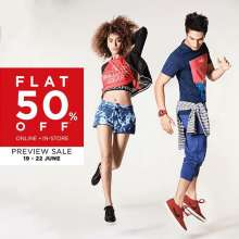 Being a Landmark Rewards Member has many perks! Get Flat 50% Off at the Preview Sale from June 19-22 at Lifestyle stores from 19th to 22nd June 2017!