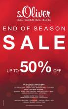 s.Oliver End Of Season Sale - Up To 50% off