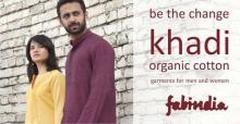 Fabindia presents BE THE CHANGE, a new collection of Khadi Organic Cotton garments for men and women