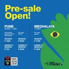 THE 2019 BACARDI NH7 WEEKENDER OPENS PRE-SALE OF TICKETS FOR PUNE AND MEGHALAYA