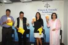 L to R - Mr. Harshad Sangale, Mr. Amit Agarwal, Mrs. Mohini Sharma Mane, Author Urmila Deshpande